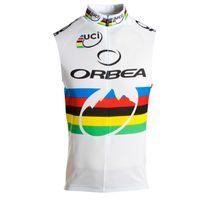 2017 Yeni Orbea Bisiklet Kolsuz Forma Dağ Bisikleti Yelek Yaz Nefes Bisiklet Giyim Tur De Fransa Açık Spor J2202