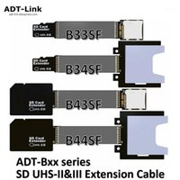 Conectores de cables de computadora Cable de memoria MicroSD TF Cable extensor de alta velocidad de hasta 312MB / seg para SDHC SDXC UHS-II UHS-III SD Extension1
