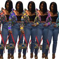 Frauen plus Größe Down Parkas PU Herbst Winterkleidung Warme Strickjacke Revers Hals Oberbekleidung Dip-Dye-Hoodies Langarm-Mantel Freies Verschiffen 0735