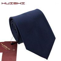 Huishi 2020 جديد التصميمات الكلاسيكية الرجال العلاقات للرجال الأعمال الرسمي الزفاف التعادل 8 سنتيمتر و 6 سنتيمتر ربطة العنق أزياء قميص اللباس الملحقات 1