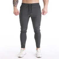 21FW Sport Mens Slim Hosen Mode Soild Farbe Aktiv Bleistift Hosen Designer Elastische Taille Herren Kleidung