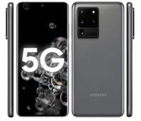 """تم تجديده Samsung Galaxy S20 Ultra G988U مقفلة 5G الهاتف المحمول 12GB RAM 128GB ROM 6.9 """"1440x3200p 5000mAh 108MP NFC Android10.0"""