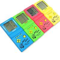 Portatile console di gioco Tetris gioco palmare giocatori LCD schermo elettronico giocattoli tascabile console classico regalo d'infanzia
