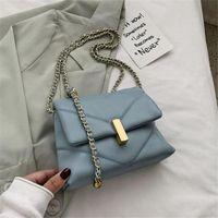 2021 new handbag shoulder bag fashion messenger bag wild ins chain small square Luxurys Designers Bags
