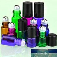 500 x 1 ml 2 ml 5 ml szklane kulki wałek aromaterapia perfumy balsam rolki szklane na butelce szklane butelki rolkowe