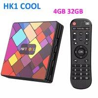 TV 박스 HK1 멋진 안드로이드 10.0 TV 박스 RockChip RK3318 4GB RAM 32GB ROM BT4.0 5G 듀얼 와이파이 스마트 셋톱 박스