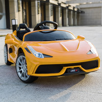 3 Speed ​​Kids Riden On Car W / Remote Control 12V Battery Powered Electric Car 3 Color Childrens 'Coche Juguete