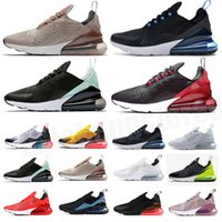 Nike air max 270 airmax 270 Designer Bauhaus Optical React Hommes Femmes Casual Chaussures Dusk Purple Triple Noir Triple Black Hommes Baskets Femmes Sports Sneakers Taille 36-45