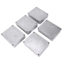 Diecast Aluminium Electronics Project Box Caso Grupo de Grupo Grupo Paral