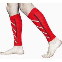 ذراع الساق تدفئة 1pc ضغط الرياضة الركبة دعم كم كاب هدفين التفاف حامي الوسادات العجل الحرس مؤسسة legwarmers1