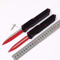 A3 CNC doble acción táctica autodefensa automática auto plegable edc cuchillo de camping cuchillo bolsillo herramienta caza cuchillos regalo de Navidad regalo