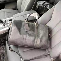 Reisetaschen Herren Luxus geprägte Duffelbeutel Mode Outdoor Pack mit großer Weltraumhochkappe Multifunktionale Handtasche Schultertaschen