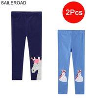 Vaileroadal leggings para niñas Animal Unicornio Leggings para niños Pantalones Lápices Pantalones para niños Otoño Ropa de bebé LJ201019