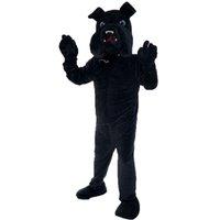 Bulldog mascote traje personagem de desenho animado tamanho adulto longteng alta qualidade (TM) 0025
