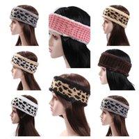 جديد وصول مصممون المرأة ليوبارد مطبوعة رباطات الأزياء عارضة الرياضة hairlace الملونة الصلبة اللون الفتيات أغطية الرأس headwrap d121002