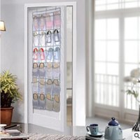 Pocket Shoe Space Home Over The Door Non-woven Hanging Organizer Practical Storage Holder Rack Closet Shoes Bag Boxes & Bins