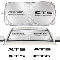 Araba Cam Güneş Gölge Kapak ATS CTS Escalade BLS CT4 CT5 CT6 EXT STS XLR XT4 XT5 Aksesuarları Anti UV Reflektör1
