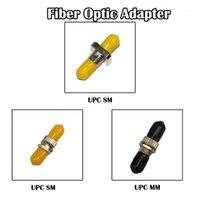 100 pièces St UPC SM Mode mono-MM MM MODE MODE FIBRE Adaptateur Simplex FTTH Réseau Ethernet1