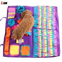 ПЭТ собака нюхает коврик на найденную еду обучение одеяло играть игрушки для собак коврик для носа головоломки игрушка собака погашенная коврик для облегчения стресса 201130