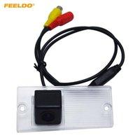 Cámaras de visión trasera Cámaras Sensores de estacionamiento Sensores Feeldo 1set CCD Cámara para Kia Sportage (km 04 ~ 10) Sorento (1 03 ~ 08) Kit de copia de seguridad # AM4018