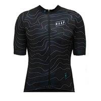 Maap Erkekler Kısa Kollu Bisiklet Formaları Ropa Ciclismo Nefes Bisiklet Giyim Hızlı Kuru Dağ Bisikleti Sportwear S21022401