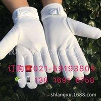 Dessoir hiver chaud blanc chaud pluskid gants blancs et féminins de sécurité
