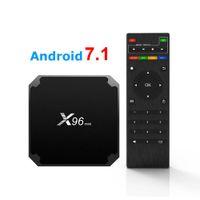 X96 Mini Android 9.0 TV Coffret 1GB 8GB AMLOGIQUE S905W SMART CORE SMART TV BOX X96MINI