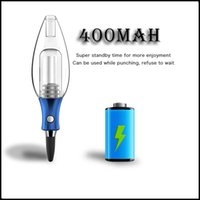 Exseed DABCOOL W3 MINI DAB RIG RIG Cera Concentrato di olio Kit Olio VV 400Mah Battery Glass Filter BUBBLER Enail Vaporizer Vape