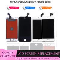 2021 iPhone 6S 7 / 8 Plus 터치 스크린 교체 용 최고 품질의 LCD 디스플레이 LCD 디지타이저 디스플레이 어셈블리