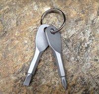مفكات المفاتيح جيب في الهواء الطلق 2 ألوان مصغرة مفك مجموعة حلقة رئيسية مع مخدوق فيليبس اليد bbycgu packing2010