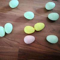 Cor sólida ovo de pássaro de pássaro simulação de páscoa brinquedo ovos electroplate flash festival festival decoração moda alta qualidade 0 4lk p2