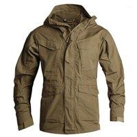 Мужская траншея цепь UK Smock тактическое пальто Мужской M65 Водонепроницаемые ветрозащитные Мужские Волна Одежда Rand Одежда S-3XL CF 0101