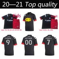 Nuovo 20 21 DC D.C. United Kids Soccer Jerseys 2020 D C Home Gressel 31 Flores 10 Ariola 7 Kamara 9 MLS Jersey Camicie da calcio