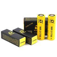 100% original listman imr 21700 3800mAh 40a 3.7v cor amarela bateria recarregável de dreno de alta drenagem para 510 thread caixa de vape mod autêntico