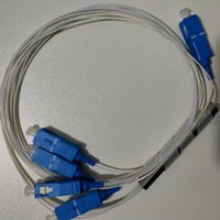 Freies Verschiffen 50pcs / Packing SPS-Splitter 1 * 4 SC / UPC Faser optischer-ftth Mini-Single-Mode UPC 1x4 SC-UPC