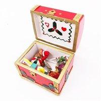 1: кукольный домик мини-мебель ремесла модель аксессуары деревянные красные новогодние коробка подарок ручной работы CRSM
