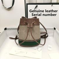 2020 디자이너 유명한 핸드백 네오노 어깨 가방 노이 가죽 버킷 가방 여성 꽃 인쇄 크로스 바디 가방 지갑