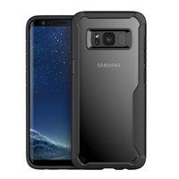 Şeffaf TPU Kılıf Samsung S8 Yumuşak Anti-Knop Kapak Samsung S9 S10E için Samsung S20 Için Yeni Ince HD Koruyucu Kılıf