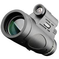 12x50 Monocular alta potência binóculos telescópio impermeável para Caminhadas Caça Camping Turismo Birdwatching