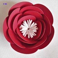1 pieza 10cm Cardstock Cardstock Pequeño Pequeño flor para fondos de boda Windows Mostrar Decoraciones de las habitaciones para niños Hecho a mano