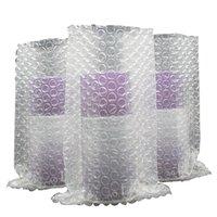 20 * 20 cm luftsäulenbeutel blase dämpft wrap spule express verpackung stoßfest film anti-kollision puffer aufblasbare blasen säulen courier taschen