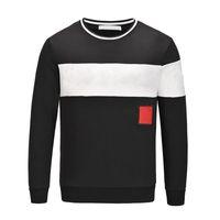 Дизайнеры одежда Homme с капюшоном мужские женские дизайнерские толстовки High Street Print одежда пуловер зимний толстый свитер M-2XL
