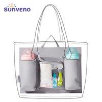 Sunen saco de fralda inserir organizador de saco de bebê para fraldas bolsa de fraldas recipiente interno para a mãe com 5 bolsos engrenagem de bebê 201120