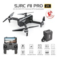 Leadstar SJ RC F11 Pro 5G WiFi FPV GPS безщеточный RC Drone 2K камера с хранилищем Bag1