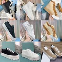 Diseñador zapatillas de deporte rueda cassetta superior top falt zapatos mujeres blanco negro tela de tela entrenadores de corredor de cacusl de bajo corte colorido 262