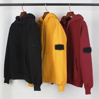 Luxurys Jackets رجل مصممين البلوزات ماركة هوديي القرش هوديي رجل سترة اليد محبوك طويل الأكمام الرجال M-XXL B20121401T
