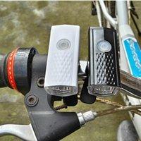 Bike Lights USB Ricaricabile Fronte frontale leggero LED Bicycle Light, 800mAh Batteria al litio, 3 modalità Modalità1