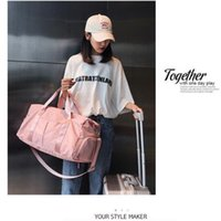 Оптовая продажа бренда нейлоновая секретная сумка для хранения розовые сумки Duffel унисекс туристическая сумка водонепроницаемый вскользь пляж упражнения багажа