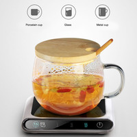 Mini Heating Coasters USB Charging Warmer Heat Base 3 Levels...