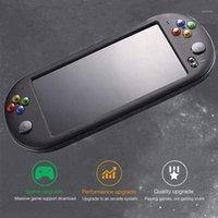 Jogadores portáteis jogadores powkiddy 7 polegadas console retro portátil para neogeo / fc / gb / gbc / gba / cps 8gb clássico jogador de vídeo kids1